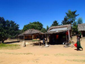 マラウイ湖への景色 2