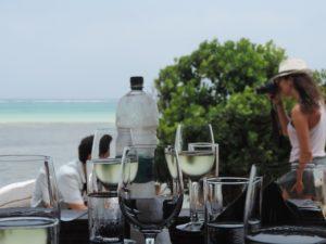 ザンジバル ロック レストラン ワイン