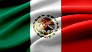 日本人男性が持てる国 メキシコ 国旗