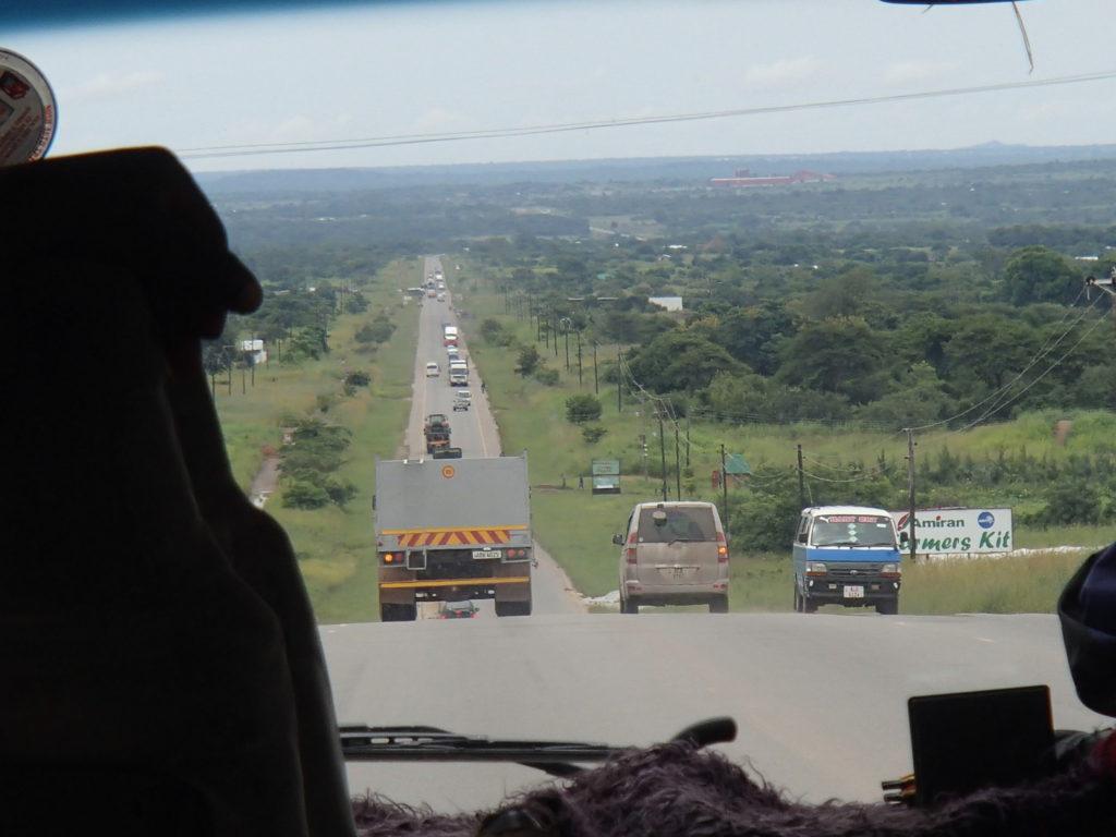 アフリカ ザンビア 移動