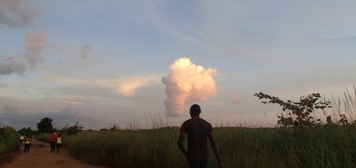 アフリカ ザンビア 田舎 風景