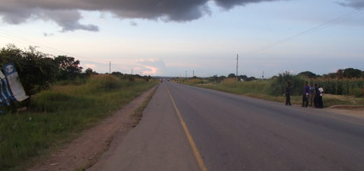 africa zambia アフリカ 学校 道