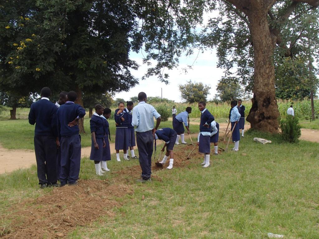 Zambia Africa ザンビア 生徒